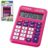 Калькулятор карманный CITIZEN LC110NRPK 8-разрядный,87х58х12, розовый (LC110NRPK)