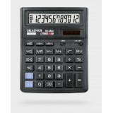 Калькулятор настольный SKAINER SK-482II, 12 разрядный., пластик, 143x192x39.5 мм, черный (10/40) (SK