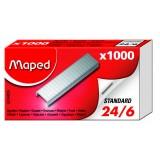 Скобы MAPED, № 24/6, стальные, в к/к, (324405)