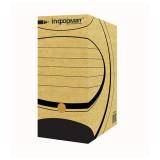 Короб архивный А4 inФОРМАТ, 150 мм, микрогофро-картон, серый (50) (RB00150N) (054721)