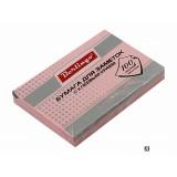 Блок бумаги для заметок BERLINGO, с липким слоем, 76х51мм/100 л., розовый, пастель (HN7651R) (004969)