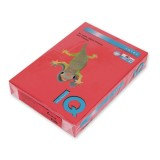 Бумага IQ COLOR A4 500л/пач 80 г/м2 Корал-красная (CO44) (110660)