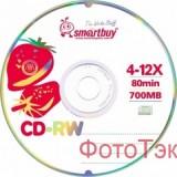 Диск CD-RW  4-12x, 80min, CB (25) (цена за 25 шт.) (11 000 048)