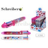 Ручка шариковая детская автоматическая SCHREIBER
