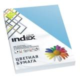 Бумага INDEX COLOR A4 100л/пач 80 гр, лазурь (IC77/100) (A29520)