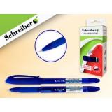 Ручка шариковая SCHREIBER, масляная, игольчатый наконеч., синяя (S 0050 P)