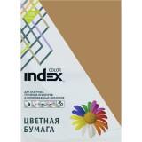 Бумага INDEX COLOR A4 100л/пач 80 гр, табачный (IC19/100) (00-00019699)