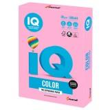 Бумага IQ COLOR A4 500л/пач 80 гр неон розовая (NEOPI) (110670)