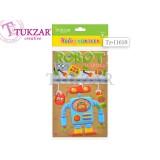 Набор наклеек в альбоме TUKZAR