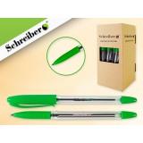 Ручка шариковая SCHREIBER, 0,7мм, зеленая (38/912) (S 0077)