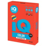 Бумага IQ COLOR A4 250л/пач 160 г/м2 Корал-красная (CO44) (110687)