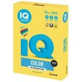 Бумага IQ COLOR A4 250л/пач 120 гр интенсив, канареечно-желтая (CY39) (110772)