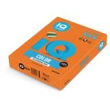 Бумага IQ COLOR A4 500л/пач 80 г/м2 интенсив оранжевая (OR43) (110662)