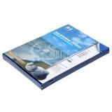 Обложки для переплета А4 РЕАЛИСТ, 200мкм, прозр./синие ПВХ (ЦЕНА ЗА 100 ШТ) (4413)