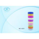 Лента клейкая BASIR, бумажная, цветная, алмазное напыление, 3 м*1,5 см (Цена за 10 штук) (10/200) (М