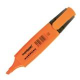 Маркер текстовый inФОРМАТ, 1-4мм, оранжевый, скошенный (12/144/576) (FMSH01O) (056791)