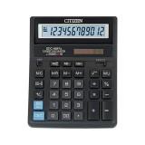 Калькулятор настольный CITIZEN SDC-888XBK 12-разрядный, 2 питания, 203х158х31, черный  (SDC-888XBK)