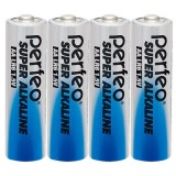 Элемент питания (батарейка) PERFEO LR6 (AA)/4SH Super Alkaline(ЦЕНА ЗА 4 шт) (PF LR6/4SH) (PF_3639