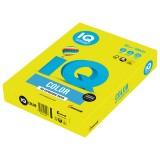 Бумага IQ COLOR A4 500л/пач 80 гр неон желтая (NEOGB) (110667)