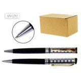 Ручка шариковая автоматическая SCHREIBER, повор. мех. металл.,пласт. футляр (AN2252) (S99050)
