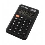 Калькулятор карманный CITIZEN LC-210NR, 8-разрядный, питание от бат, 64х98х12, черный (LC-210NR)