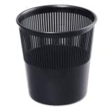 Корзина для бумаг СТАММ, 9л., сетчатая, черная (16) (КР21) (230347)