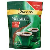 Кофе JACOBS MONARCH, натур. растворимый, сублим. пакет, 150г/9 (620630)