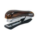 Степлер EAGLE, №10, на 10л., комбинированный, дымчато-коричневый (12/144) (5002/д-кор) (038965)
