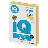 Бумага IQ COLOR MIX A4 200л/пач 80 гр 4 цвета неон (IQ-80-RB04) (166897)
