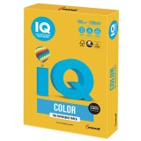 Бумага IQ COLOR A4 250л/пач 160 гр интенсив солнечно-желтая (SY40) (110689)