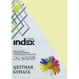 Бумага INDEX COLOR A4 100л/пач 80 гр, желтый (IC53/100) (00-00019686)