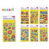 Наклейки декоративные MAZARI 3D, голограф, 11х21,5см (M-8739)