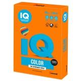 Бумага IQ COLOR A4 250л/пач 160 гр Интенсив оранжевая (OR43) (110777)
