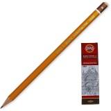 Карандаш графитовый KOH-I-NOOR 1500 B (1500.B)