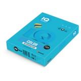 Бумага IQ COLOR A4 500л/пач 80 г/м2 интенсив светло-синяя (AB48) (110663)