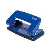 Дырокол EAGLE, 10л., металлический, синий (12/96) (709/с) (012620)