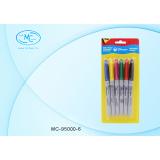 Набор маркеров перманентных BASIR, 6 цветов (1/200) (МС-95000-6)