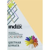 Бумага INDEX COLOR A4 100л/пач 80 гр, песочный (IC16/100) (00-00019694)