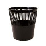 Корзина для бумаг TUKZAR пластиковая,12л., цвет  черный (TZ 11823)