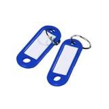 Бирка для ключей NONAME, синяя, (цена за 10 шт/уп) (300) (313513)