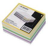 Блок цветной бумаги для заметок inФОРМАТ, 80х80х35мм 80 гр., куб, проклееный (84) (NPG4-808035) (037