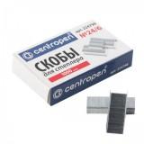 Скобы для степлера CENTROPEN, N24/6, 1000 шт. (96100002)