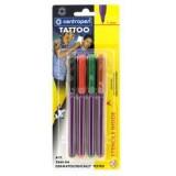 Набор маркеров CENTROPEN, для татуировок, 4 цвета (1/20) (2880/4)
