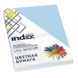 Бумага INDEX COLOR A4 100л/пач 80 гр, бледно-голубой (IC72/100) (A29515)