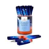 Ручка шариковая LOREX SKY OF STARS.SUNSET 0,70 мм синий резин. грип кругл.корп.(LXOPDS-SS1) (189551)