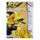 Обложки для переплета А3 РЕАЛИСТ, 230г/м2, черные, картонные, кожа (ЦЕНА ЗА 100 ШТ) (3922)