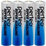 Элемент питания (батарейка) PERFEO LR03 (AAA)/4SH Super Alkaline,  (ЦЕНА ЗА 4 шт.) (PF_3635) (30 005