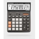 Калькулятор настольный SKAINER SK-514M, 14 разрядный., пластик, 146x197x53 мм, черный (SK-514M)