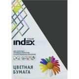 Бумага INDEX COLOR A4 100л/пач 80 гр, черный (IC99/100) (00-00019702)