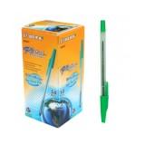Ручка шариковая BEIFA, зеленая (50/4000) (BE-AA927/з) (029022)